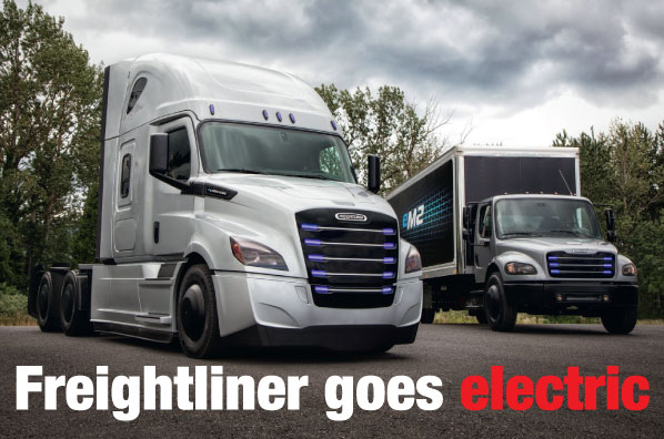 Freightliner Goes Electric