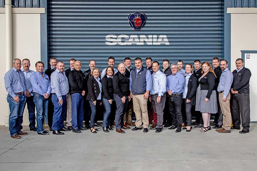 Scania muscles up