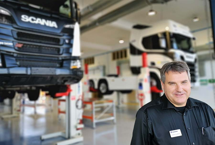 New Scania service dealer in Canterbury