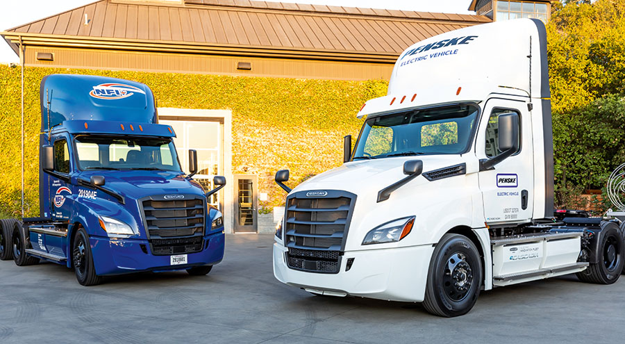 Daimler e-trucks clock up big Ks