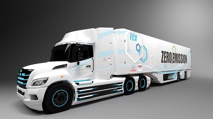 Hino, Toyota team up on fuel cell trucks