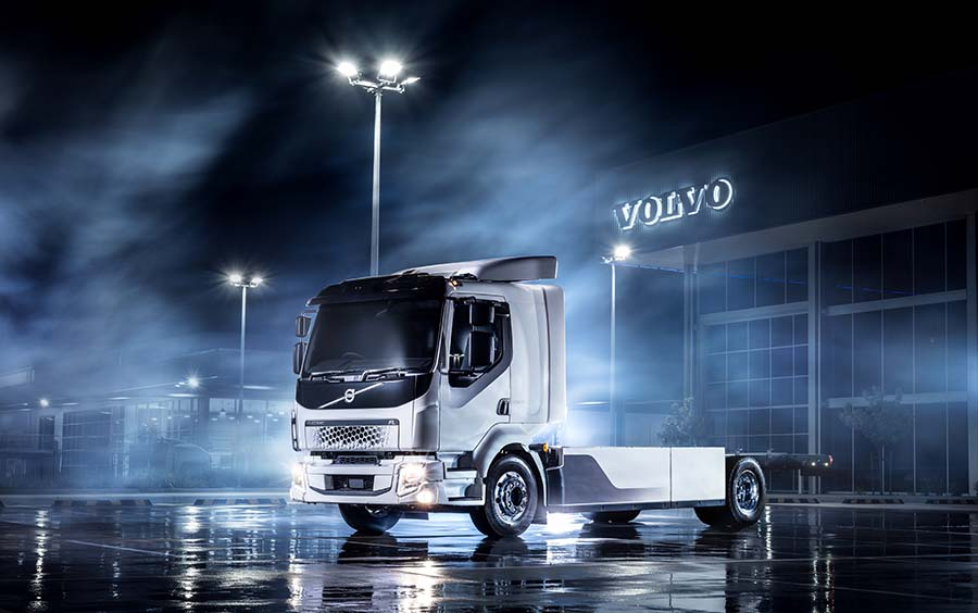 Electric Volvo goes to work in Oz